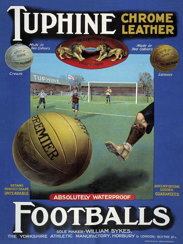 Tuphine Leather Footballs Advert