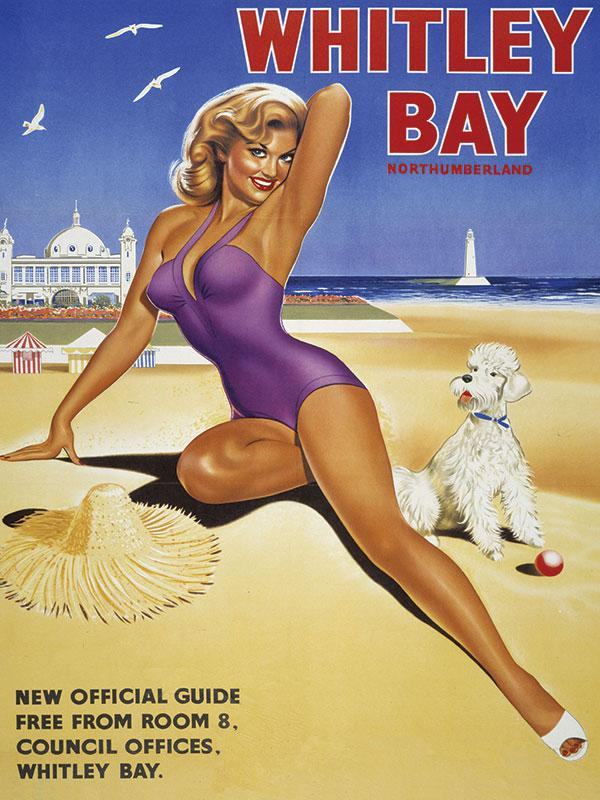 Whitley Bay Advert Sign