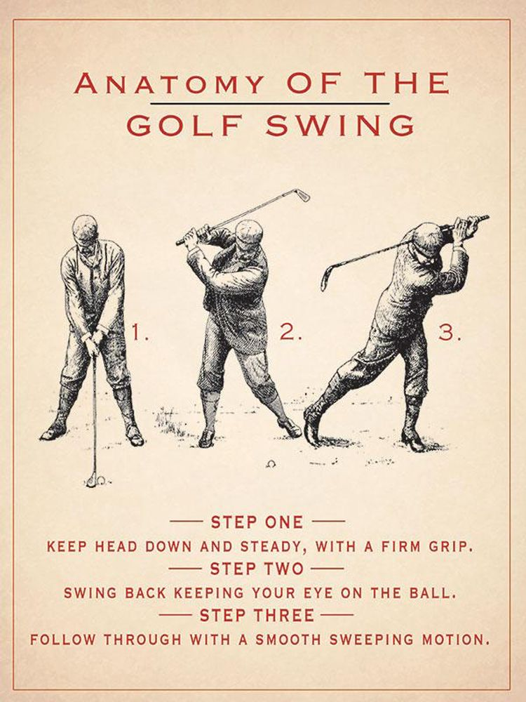 anatomy-of-the-golf-swing-metal-wall-art