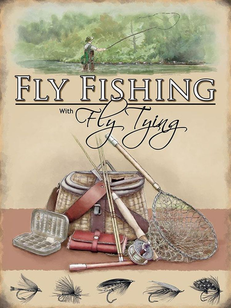 fly fishing wall art
