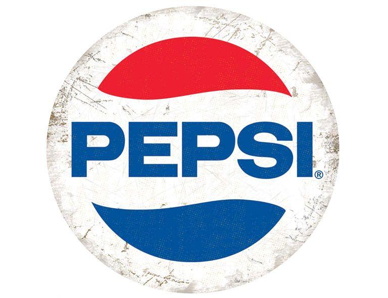 Pepsi Cola Modern Round Metal Wall Art