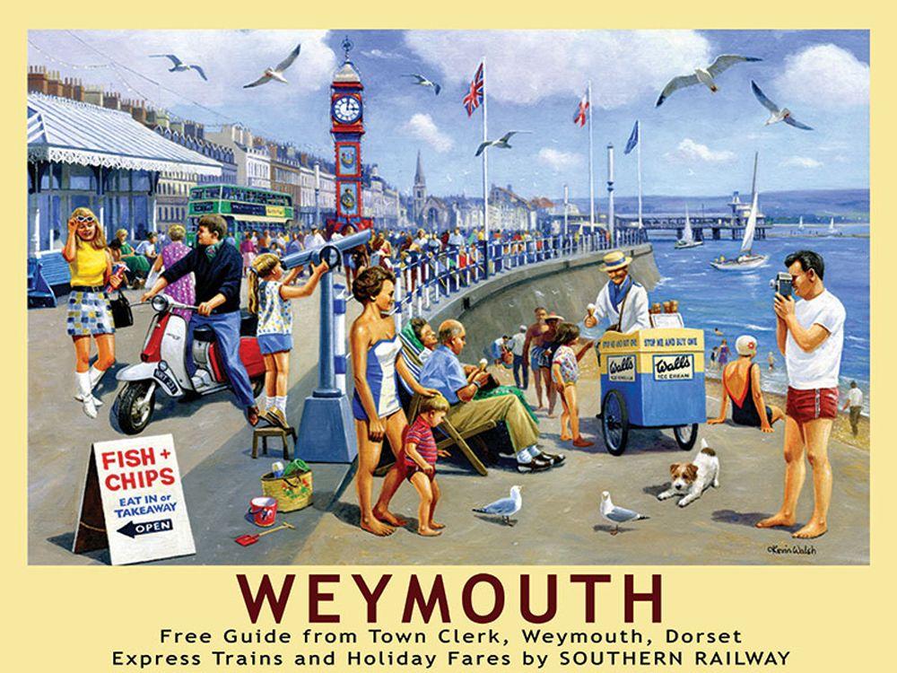 Weymouth Railway Wall Art