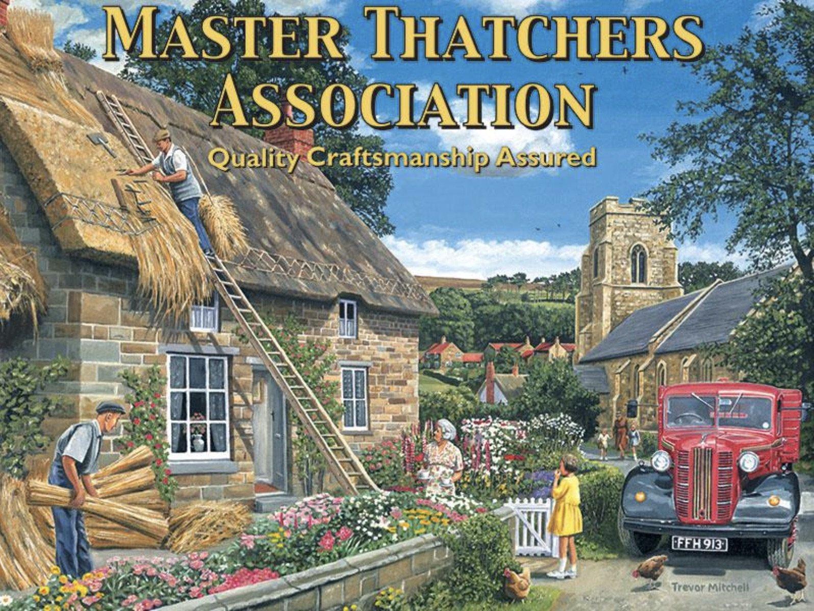 Master Thatchers Metal Wall Art