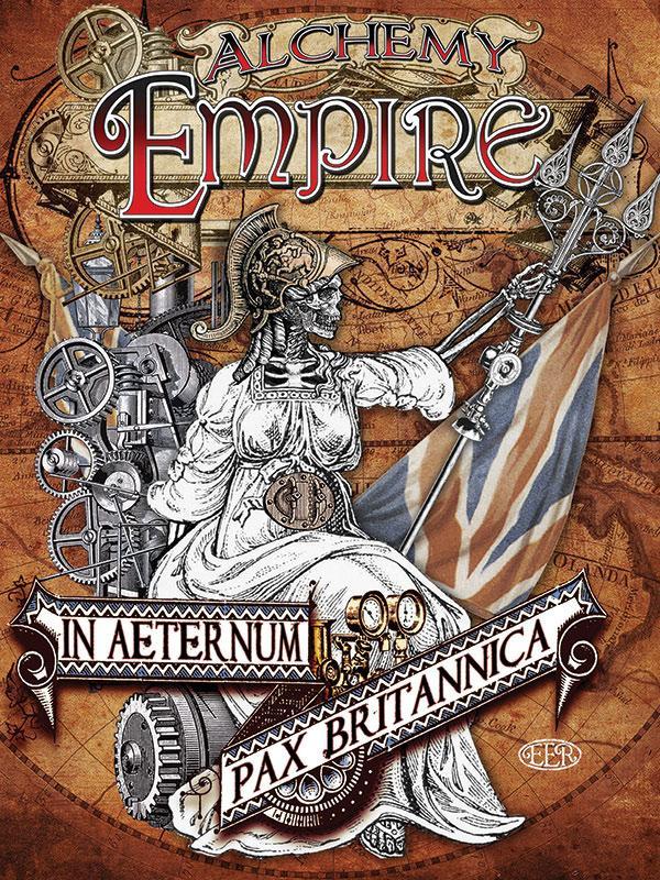 Alchemy Empire Metal Wall Art
