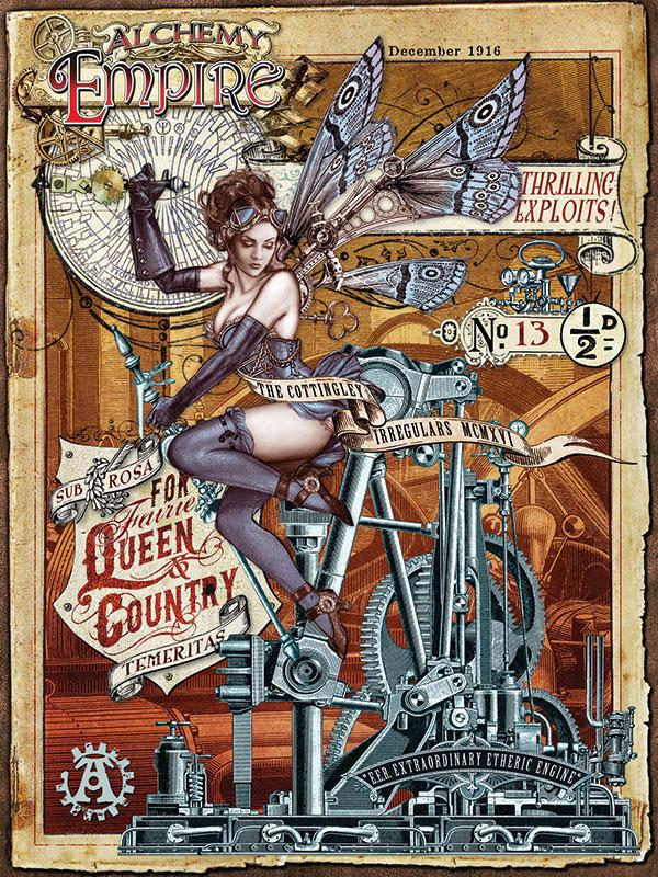 Empire Queen And Country Metal Wall Art
