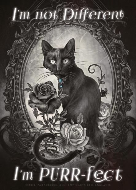 I'm Purrfect Metal Wall Art